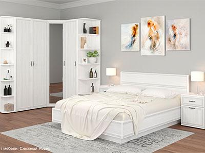 Спальня Карина-8 - Снежный Ясень