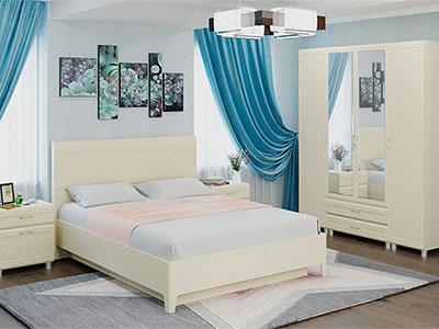 Спальня Мелисса-4 - Дуб Беленый