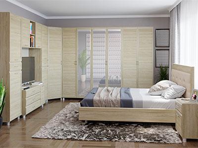 Спальня Мелисса-7 - Дуб Сонома