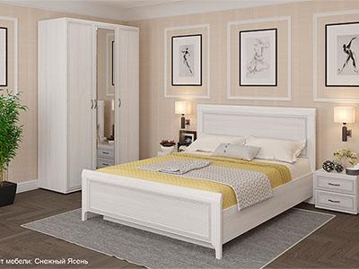Спальня Карина-2 - Снежный Ясень