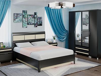 Спальня Мелисса-4 - Дуб Венге-комб.