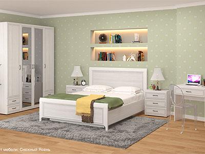 Спальня Карина-6 - Снежный Ясень