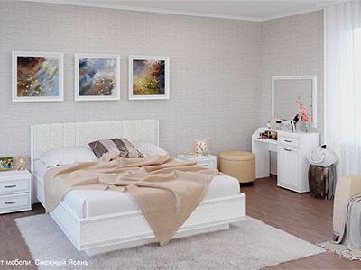 Спальня Карина-7 - Снежный Ясень