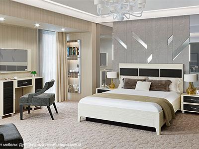 Комплект мебели для спальни «Камелия-1»