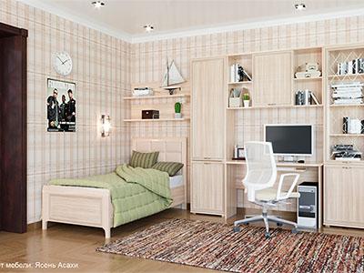 Комплект мебели для детской «Карина-9»