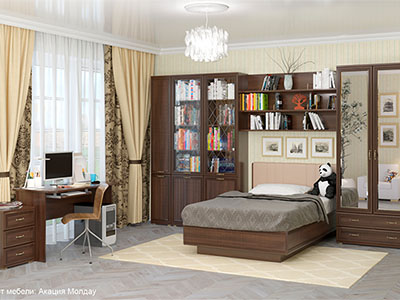 Комплект мебели для детской «Карина-4»