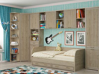 Комплект мебели для детской «Карина-7»