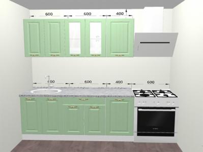Кухня Прованс - 1,6 м